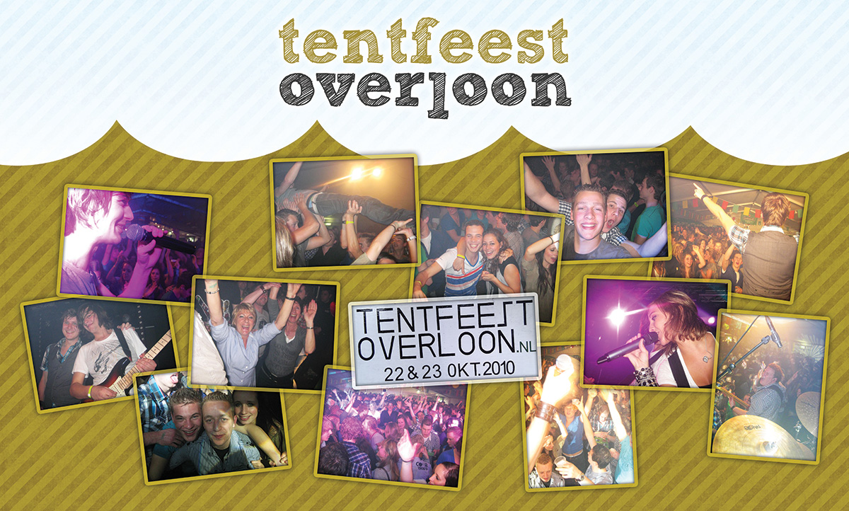 Doek Tentfeest Overloon 2010