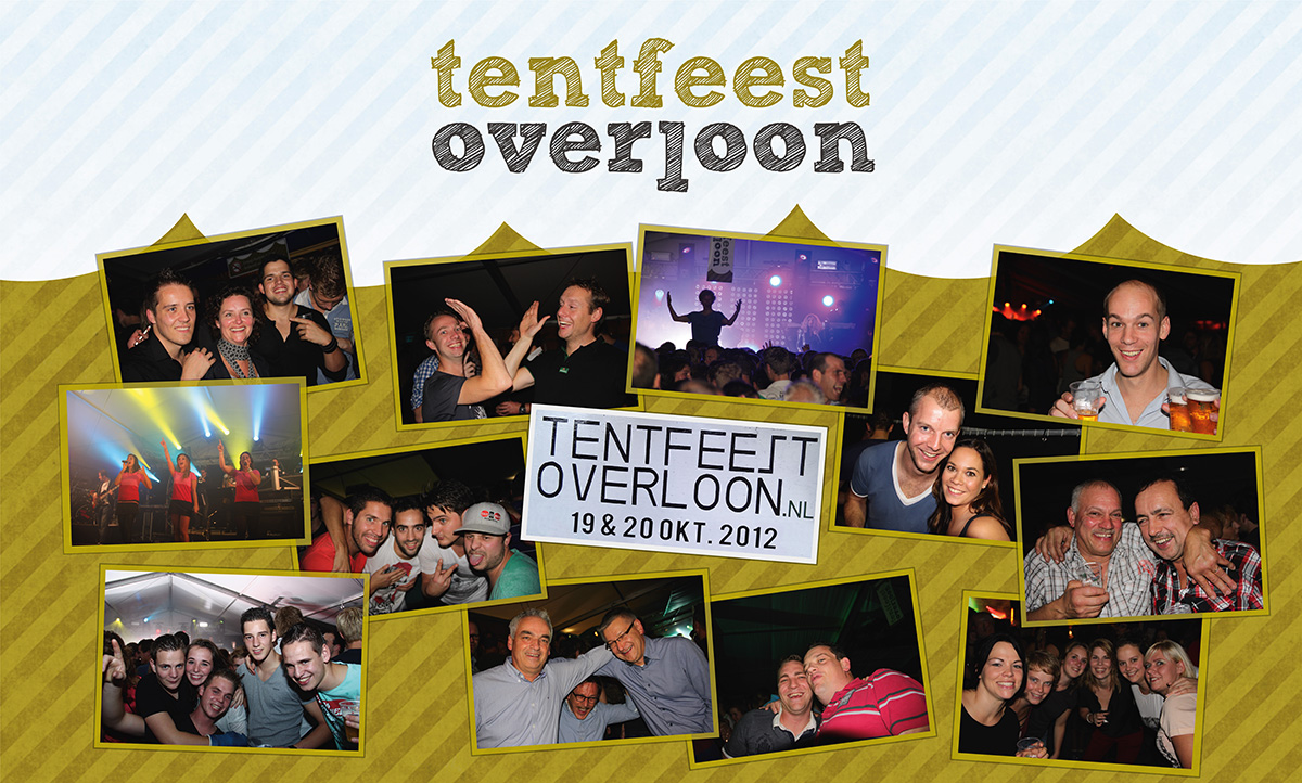 Doek Tentfeest Overloon 2012