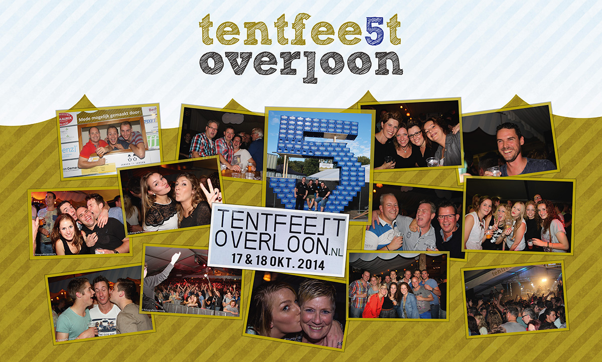 Doek Tentfeest Overloon 2014